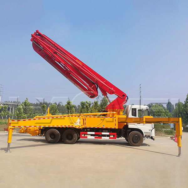 HDT5340THB-42/4 truck mounted concrete pump for sal