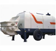 The performance of HAOMEI trailer concrete pump