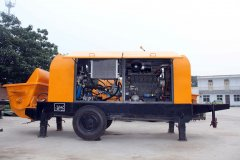Towing requirements of concrete trailer pumps for sale