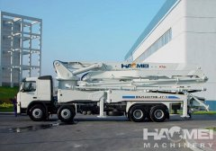 Advantages of concrete pump truck for sale