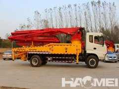 Structure and Working Principle of Concrete Pump Truck