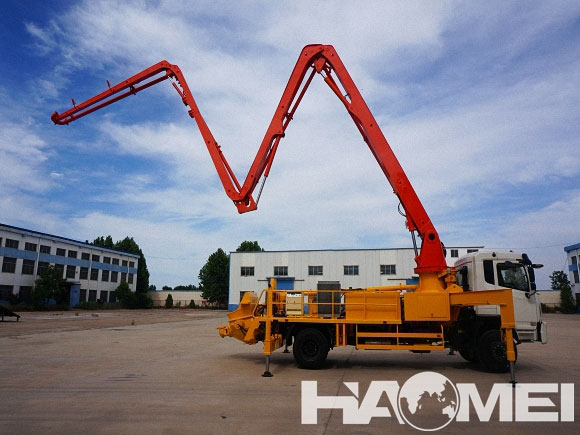 HDT5380THB-45/5 concrete boom pump truck for sale price